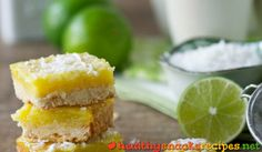 Kiwi Lime Bars http://www.healthysnacksrecipes.net/kiwi-lime-bars/ Easy healthy snack recipes gluten free vegetarian