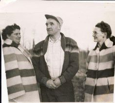 STRIPE SPOTTING | VINTAGE PHOTO    We LOVE this vintage photo of Hudson's Bay Company stripes in the form of the CLASSIC Hudson's Bay Company Stripe Jacket. Proud to be a part of the Great Canadian Story.     Tell us about your first STRIPE experience.