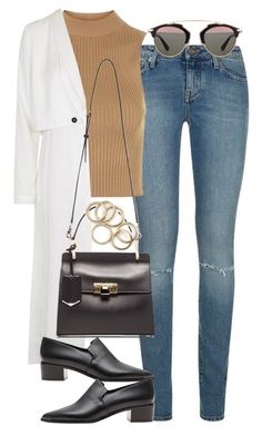 """""""Untitled #3653"""" by lily-tubman ❤ liked on Polyvore featuring Yves Saint Laurent, Topshop, Balenciaga, Acne Studios, Christian Dior, women's clothing, women's fashion, women, female and woman"""