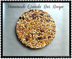 homemade granola bar recipe @cleverlyinspired (3)2