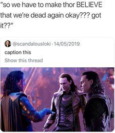 Funny Marvel Memes, Dc Memes, Avengers Memes, Marvel Jokes, Loki Funny, Loki Thor, Marvel Avengers, Marvel Comics, Loki Laufeyson