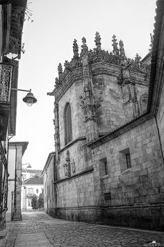 Braga's Cathedral by Júlio Alves on 500px