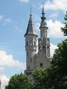 Sleeping Beauty's castle - Verviers, Belgium (via Flickr)