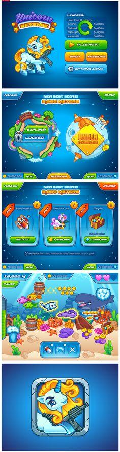 一款国外的手机游戏  GAMEUI- 游...
