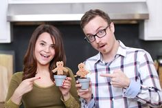 Made some Groot themed cookies today on Nerdy Nummies with my friend Kevin!