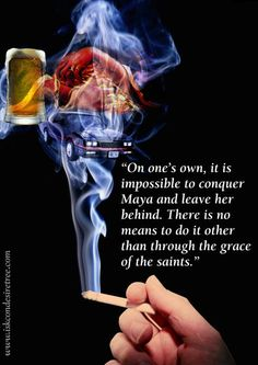 Without the wisdom & Grace of God or saints, and consciously controlled willpower, no miraculous achievements are possible. Hindu Quotes, Gita Quotes, Krishna Quotes, Spiritual Quotes, Advaita Vedanta, Surrender To God, Srila Prabhupada, Awakening Quotes, Night Aesthetic