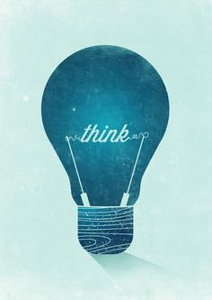 Think Graphic Poster