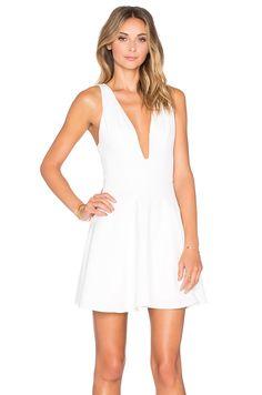 NBD x REVOLVE Ride Or Die Dress in White