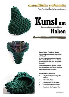 I should make one for my brother...the question is do I try to figure it out on my own or buy the pattern and try to translate the German LOL