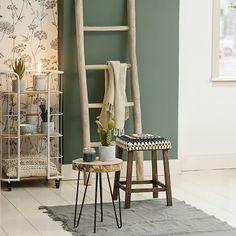 Decoratieve ladder teak | Xenos