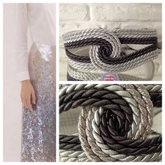 Fajines tienda.cordondeseda.com Diy Clothes, Hand Embroidery, Hair Bows, Glass Beads, Jewelery, Handmade Jewelry, Belt, Sewing, Creative