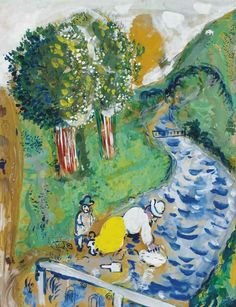 Marc Chagall - Le Ruisseau, 1926.