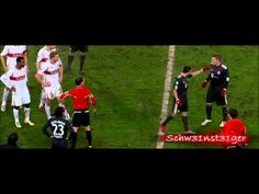 Bastian Schweinsteiger Khalid Boulahrouz Fair-Play    Basically Schweini tried to convince the ref that it wasn't a foul. To think that someone would do that, I'm still amazed!