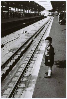 Tokyo Station, April 18, 1954 by Robert Capa