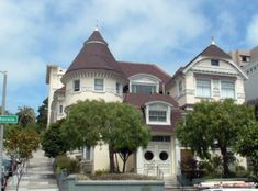 Atherton House – For the ghost lovers, the Atherton House, built in 1881, is located at 1990 California Street and boasts being one   		of the most haunted locations in the city, finding it a spot on numerous television shows and place on the haunted tour of San Francisco.