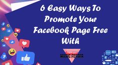 6 ways to promote your Facebook Page Free Create Facebook Page, Facebook Users, Promotion Work, Music Promotion, Creating A Business, Promote Your Business, Business Pages, Online Business, Find Your Friends