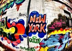 Over the past few weeks, renowned British street artist Banksy has taken New York City by storm, leaving a trail of spray paint in his wake. But graffiti is nothing new here: The city has long acted as a blank canvas to artists, who have left their mark in a variety of formats, from bulky name tags to intricate murals.