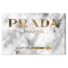 Canvas print with a typographic motif. Made in the USA.   Product: Canvas printConstruction Material: Gallery-wrapped...