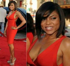 """Potential haircut - Super cute and my stylist can't use the excuse """"that's a wig"""" or """"she has pieces""""... #taraji"""