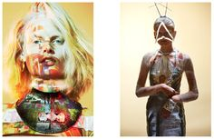 Oyster Fashion: 'Earth to Hanne' Starring Hanne Gaby | Fashion Magazine | News. Fashion. Beauty. Music. | oystermag.com