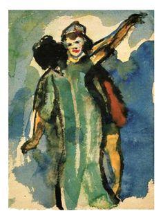 Emil Nolde - People Dancing