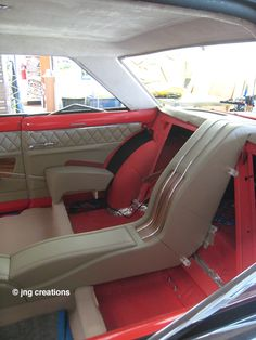 Package Tray and Quarter panels are complete in the 1963 Chevy Nova II