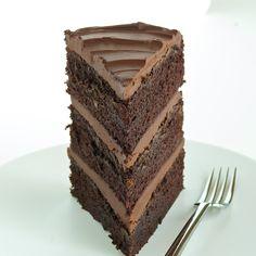 3 Layer Guinness Chocolate Cake. YUM!!!!!