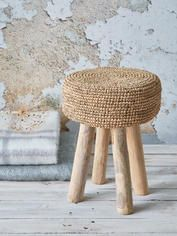 Natural Artisan Stool