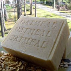 Skin Care Natural Ground Fresh Organic Oatmeal Soap Bar with Mango Butter