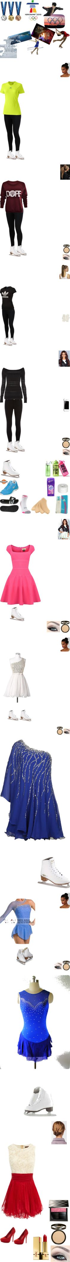 """""""Figure Skating"""" by cheeks24 ❤ liked on Polyvore"""