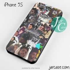 Drake X The Weeknd Collage Cool Phone case for iPhone 4/4s/5/5c/5s/6/6 plus