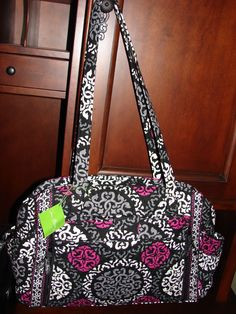 Diaper Bags 169295  Vera Bradley Make A Change Baby Bag Diaper Bag Changing  Pad Canterberry Magenta -  BUY IT NOW ONLY   155 on eBay! e56541b935825