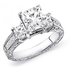 1 1/2 Carat Diamond Engagement Ring