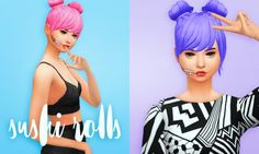 Recolours: Sushi Rolls at Holosprite • Sims 4 Updates