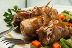 Przepis na zrazy Polish Recipes, Polish Food, Food Porn, Pork, Turkey, Favorite Recipes, Meat, Poland, Foods