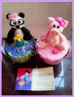 #cupcakes #lima #peru #panda #chanchitos