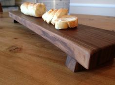 Baguette Footed Bread Board - Walnut by  Farmhouse Table Company