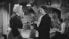 You Look Familiar: Years before her incarnation as Miss Marple - Joan Hickson played a housekeeper in the Margaret Rutherford/Marple movie Murder She Said