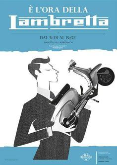 scooterscene:  Vintage Lambretta advert poster