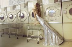 """""""Would you believe we met at the laundromat?"""""""