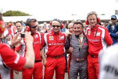 René Arnoux dice que el cambio en Ferrari era necesario.  Arnoux señala que para ganar no sólo hace falta un gran ingeniero, sino también «uno para la caja de cambios, otro para el motor, otro para la aerodinámica y otro para la electrónica».