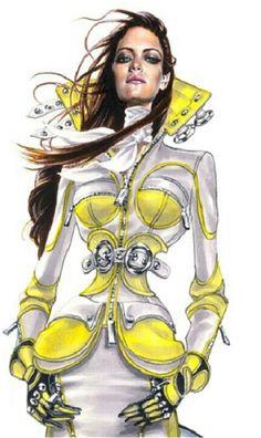 fashionillustr.quenalbertini: Arturo Elena sketch