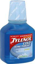 Tylenol Cold Sore Throat Liquid Extra Strength Cool Burst   $7.49