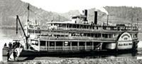 The Julia Belle Swain used to grace the Illinois River and dock in Peoria.