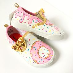 Can't go to a donut party without these awesome donut shoes!
