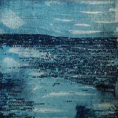 Sale+Etching+Print+Modern+Beach+Home+Decor+Strata+by+ElviaPerrin,+$65.00