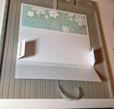 Nurkkaanajettu: Suklaakortti ohje Gift Packaging, Diy Cards, Cardmaking, Christmas Cards, Paper Crafts, Gifts, Malli, Gift Boxes, Home Decor