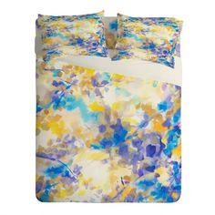 Jacqueline Maldonado Canopy Blue Sheet Set Lightweight   DENY Designs Home Accessories