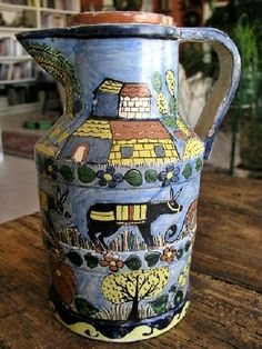 One of the featured pieces in the Artes de Mexico issue on Tlaquepaque Pottery…