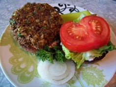 Recipe of the Day: Spicy, Low-Fat Veggie Burgers